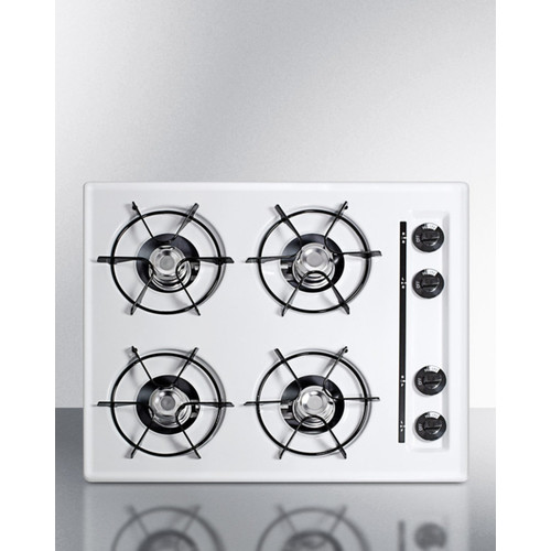 Summit Appliance 24'' Gas Cooktop with 4 Burners