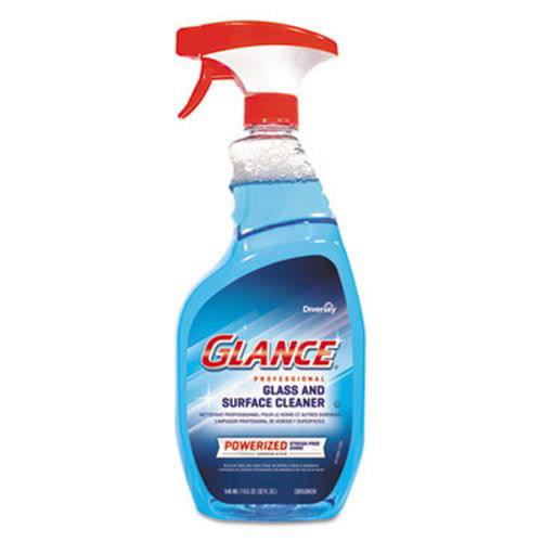Diversey Glance Glass & Surface Cleaner, 32-oz. Bottle (DVOCBD540298EA)