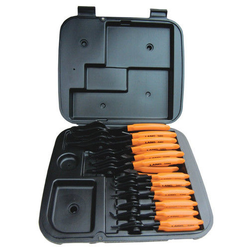 Lang 3495 12-Piece Combination Internal and External Retaining Ring Pliers Set