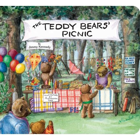 Teddy Bears Picnic (Board Book) - A Bears Picnic