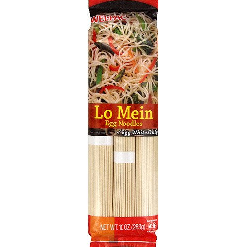 Wel-Pac Lo Mein Egg Noodles, 10 oz, (Pack of 12)