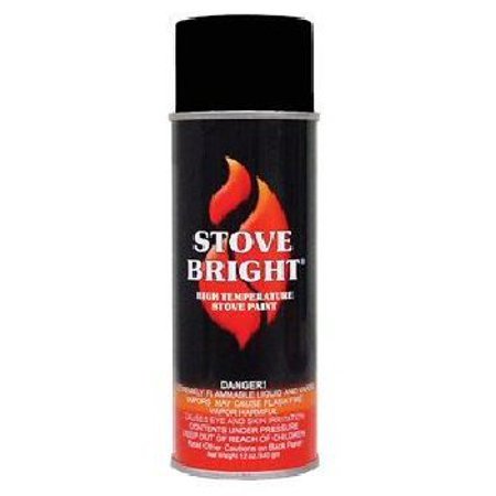 Stove Bright 1200 Degree High Temp Paint - Flat