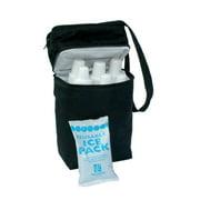 JL Childress 6 Bottle Cooler Bag Black by JL Childress