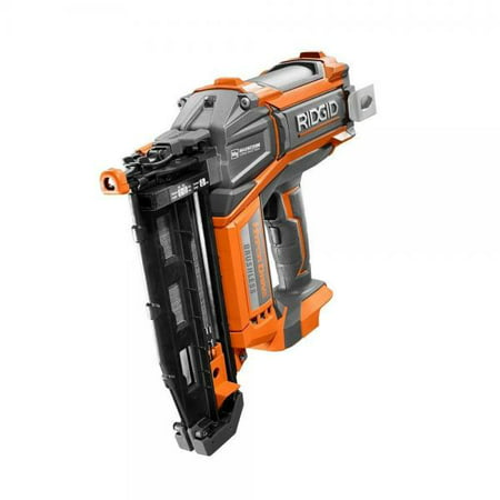 Ridgid HyperDrive 16 Gauge 18v Brushless 2-1/2 In. Straight Finish Nailer 18v Angled Finish Nailer