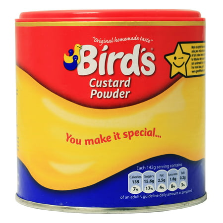 Birds Custard Powder Drum 105oz 300g Walmart