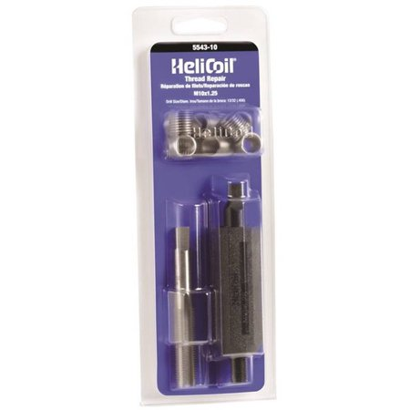 HeliCoil 5543-10 Metric Thread Repair Kit, M10 X 1-1/4 X 1.5 mm - image 1 of 1