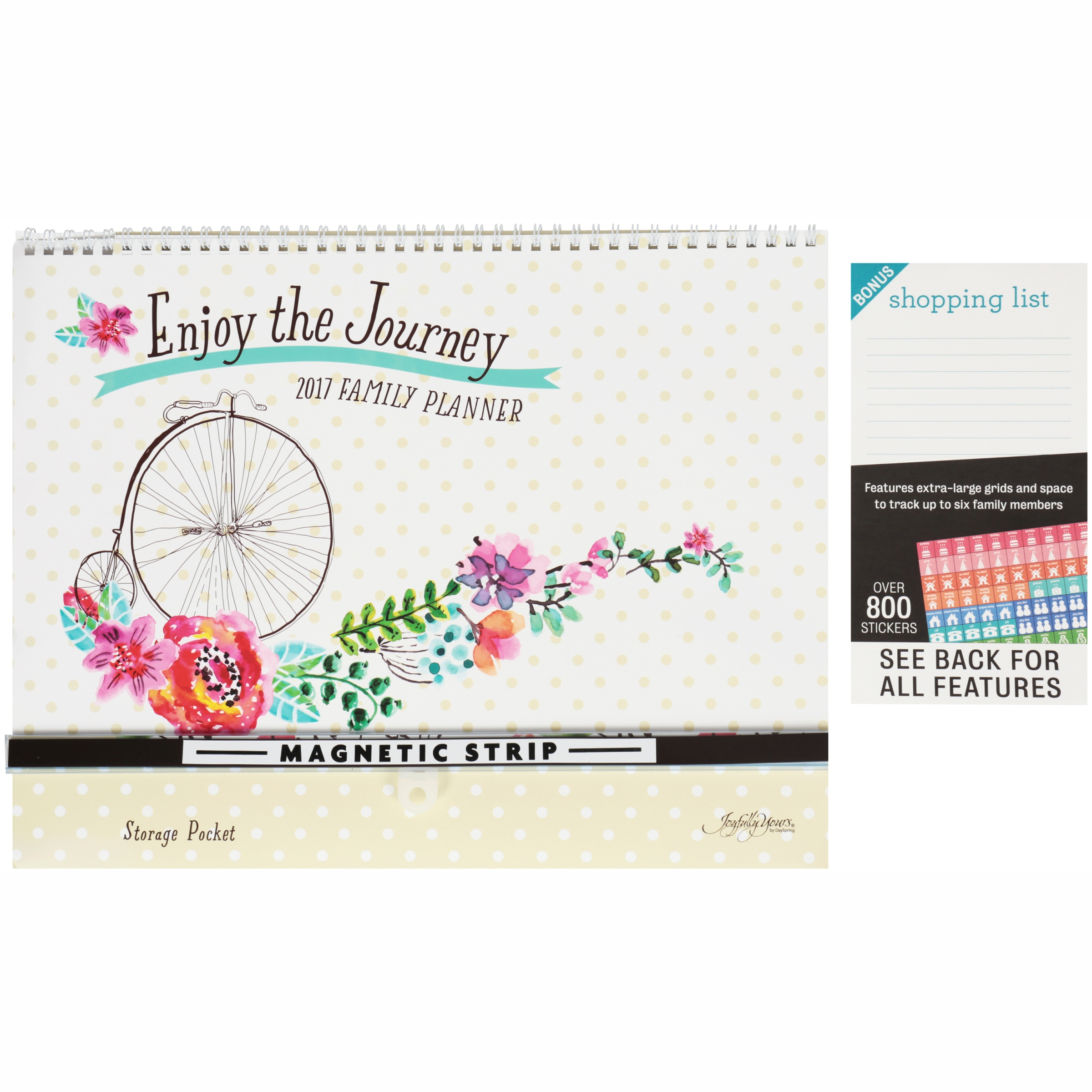 DaySpring Joyfully Yours® Enjoy the Journey 2017 Family Planner