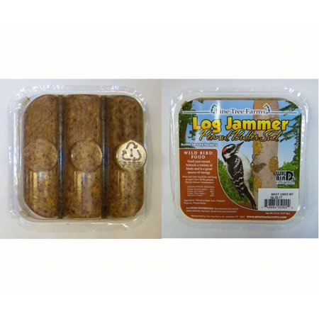 Pine Tree Farms Log Jammers Peanut Suet Bird Food