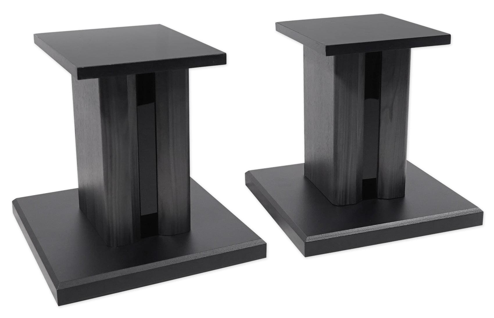2 technical pro 8 studio monitor bookshelf computer multimedia speaker stands. Black Bedroom Furniture Sets. Home Design Ideas