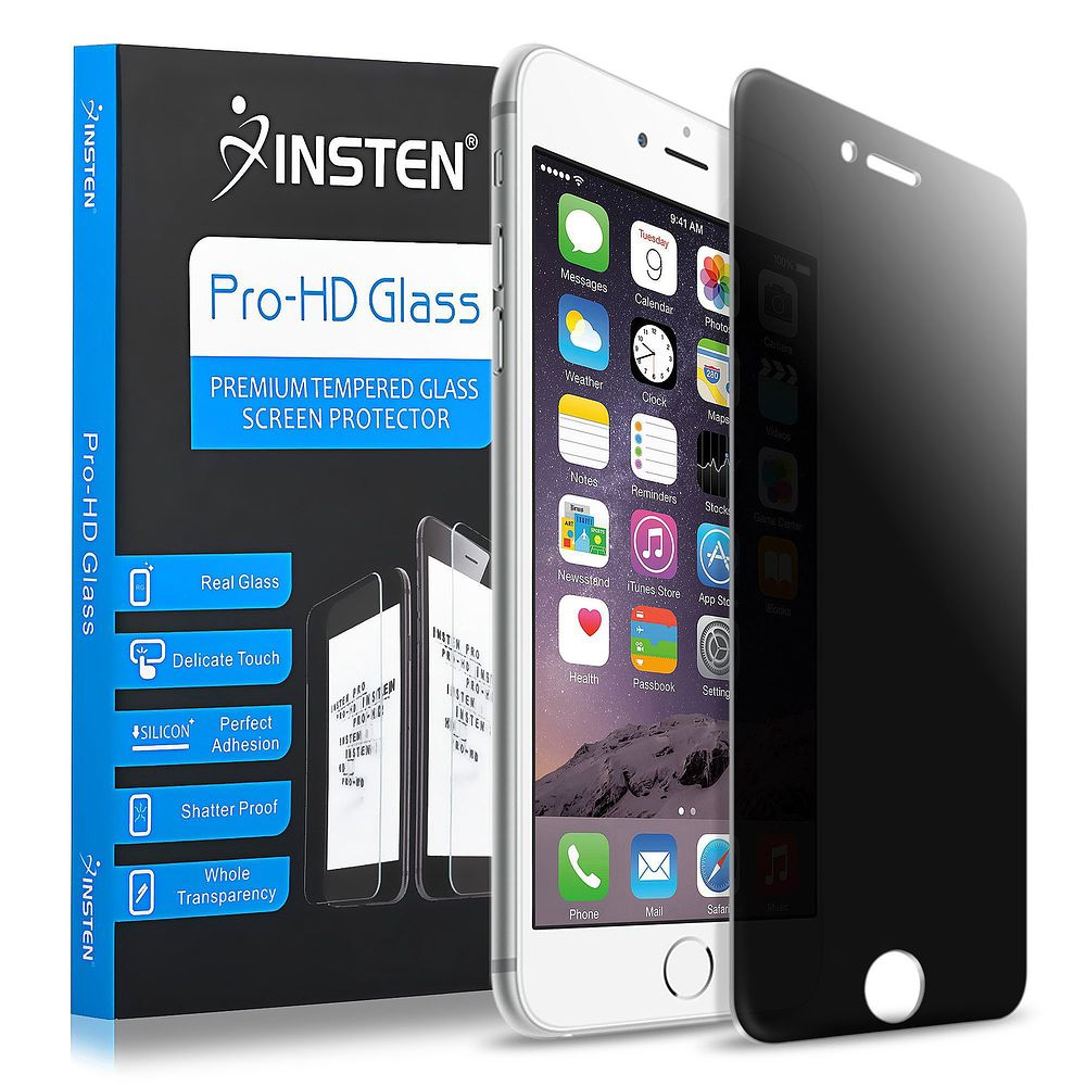 iPhone 7 Protector, by Insten Privacy Filter Anti-Spy Tempered Glass Screen Protector For Apple iPhone 7 4.7 inch