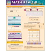 BarCharts 9781423221593 Math Review - Fractions Quickstudy Easel