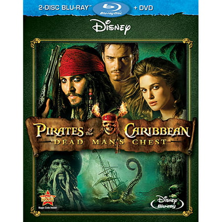 Pirates of the Caribbean: Dead Man's Chest (2-Disc Blu-ray + DVD) (Pirates Of The Caribbean Fountain Of Youth)