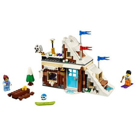 LEGO Creator 3in1 Modular Winter Vacation 31080 (374 Pieces) Thermolyne Modular Blocks