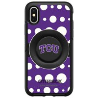 TCU Horned Frogs OtterBox Otter+Pop PopSocket Symmetry iPhone Case