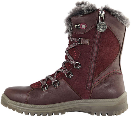 Women's Santana Canada Majesta Luxe Short Waterproof Boot Bordeaux Leather 11 M - image 1 de 6
