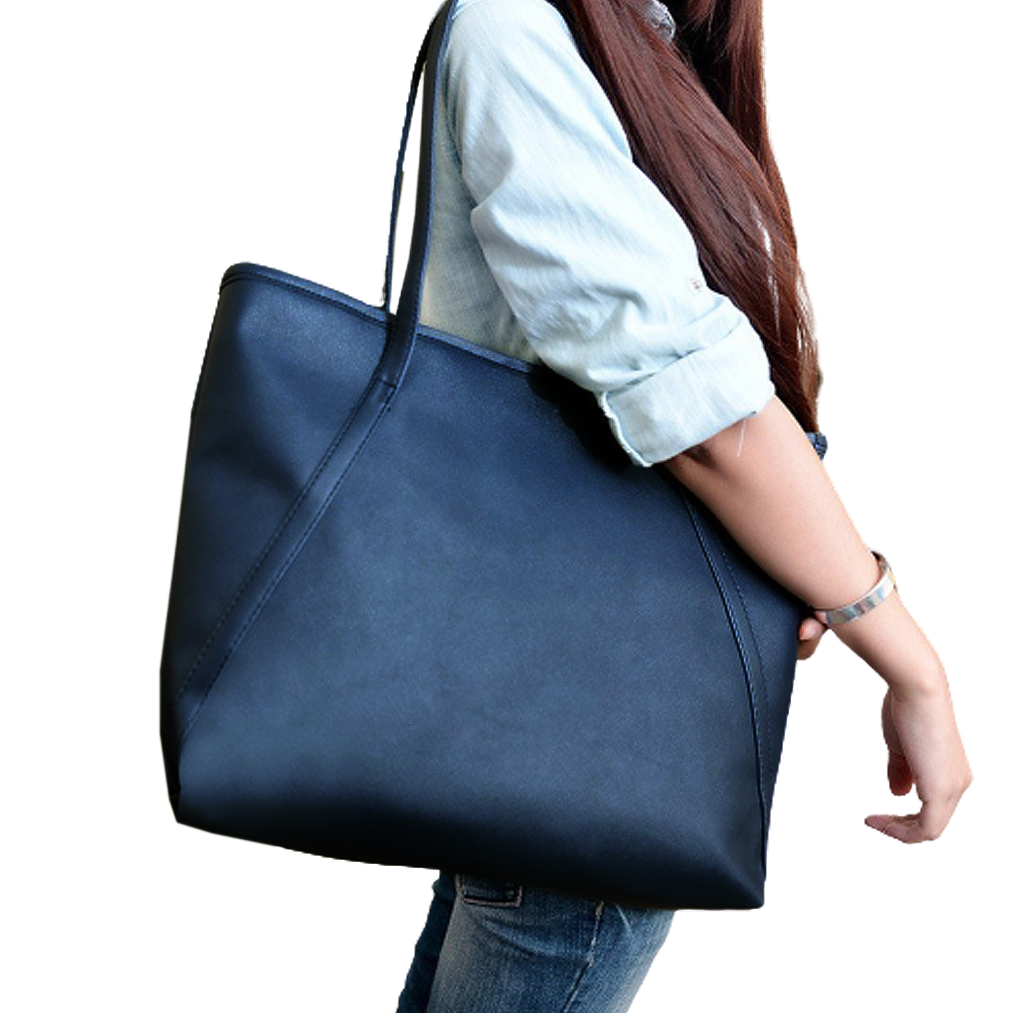 My Daily Fashion Shoulder Tote Bag for Women Music Notes Handbags Large