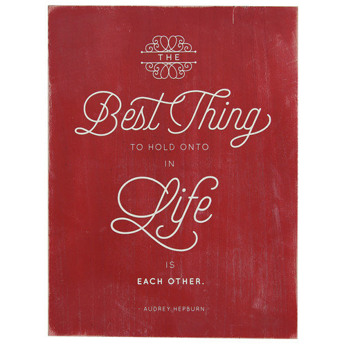 Stratton Home Decor Best Thing in Life Textual Art
