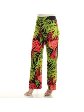 9cf26857c288 Product Image INC International Concepts Printed Wide-Leg Soft Pants  PLEASANT PALMS XL
