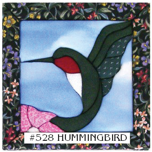Quilt Magic 6-Inch by 6-Inch Kit, Hummingbird Multi-Colored