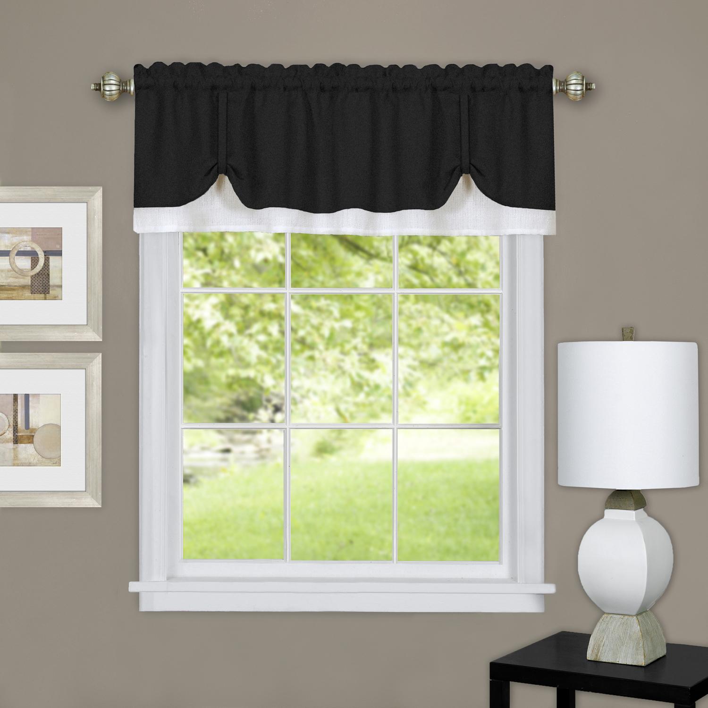 Achim Darcy Window Curtain Valance 58x14