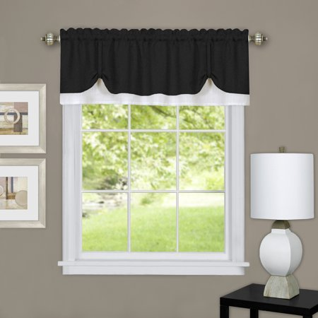 Achim Darcy Window Curtain Valance 58x14 ()