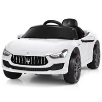 Deals on Gymax 12V Maserati Licensed Kids Ride on Car w/ RC