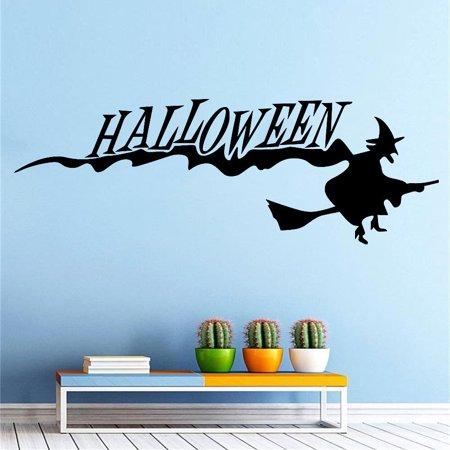 Happy Halloween Background Wall Sticker Window Home Decoration Decal Decor - Windows Halloween Backgrounds