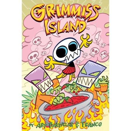 Itty Bitty Comics: Grimmiss Island - eBook