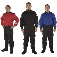 G-Force Racing 4125MEDBU Fire Retardent Driving Suits