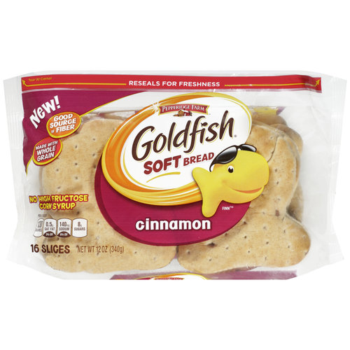 Pepperidge Farm Goldfish Cinnamon Soft Bread, 12 oz