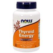 NOW Supplements, Thyroid Energy™, Iodine and Tyrosine plus Selenium, Zinc and Copper, 90 Veg Capsules