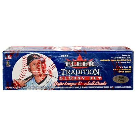 MLB 2000 Tradition Glossy Complete Set (2000 Fleer Tradition Baseball)