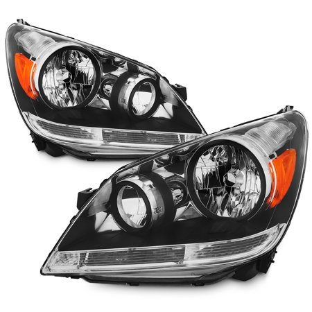 Fit 2005 2007 Honda Odyssey Headlights Headlamps Left Right Replacement 05 06 07