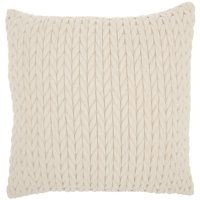 "Nourison Life Styles Ivory Decorative Throw Pillow , 18""X18"""