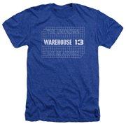 Warehouse 13 Blueprint Logo Mens Heather Shirt