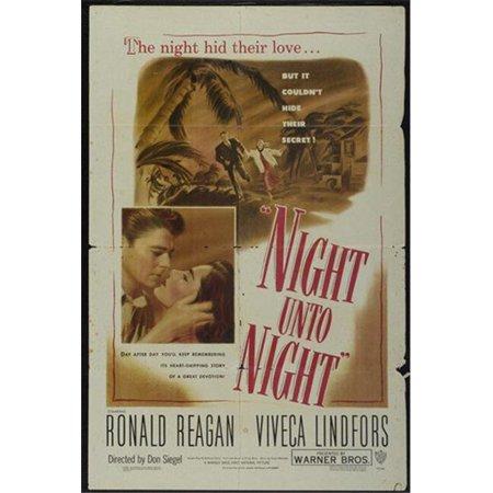 Posterazzi MOVGI9331 Night Unto Night Movie Poster - 27 x 40 in. - image 1 de 1