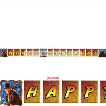 Happy Birthday Skulls (Indiana Jones 'Kingdom of the Crystal Skull' Happy Birthday Banner)