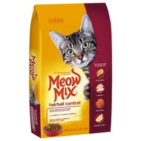 [Multiple Sizes] Meow Mix Hairball Control Dry Cat Food