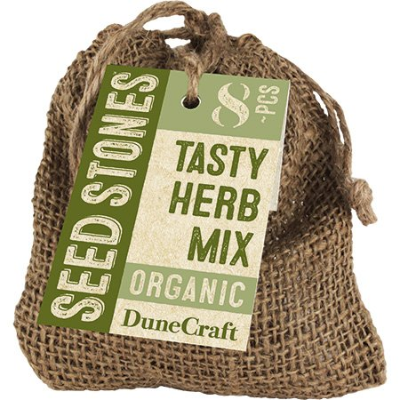 Organic Bag of Seeds - Tasty Herb Mix Multi-Colored