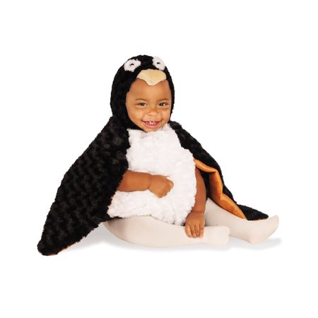 Diy Halloween Animal Costumes (Penguin Infant Toddler Plush Fluffy Animal Bird Halloween)