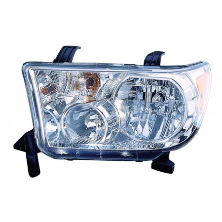 KarParts360: Fits 2009 2010 2011 2012 2013 TOYOTA TUNDRA Head Light Assembly Driver Side LED Replaces TO2502194 CAPA Certified 2010 Toyota Tundra Led