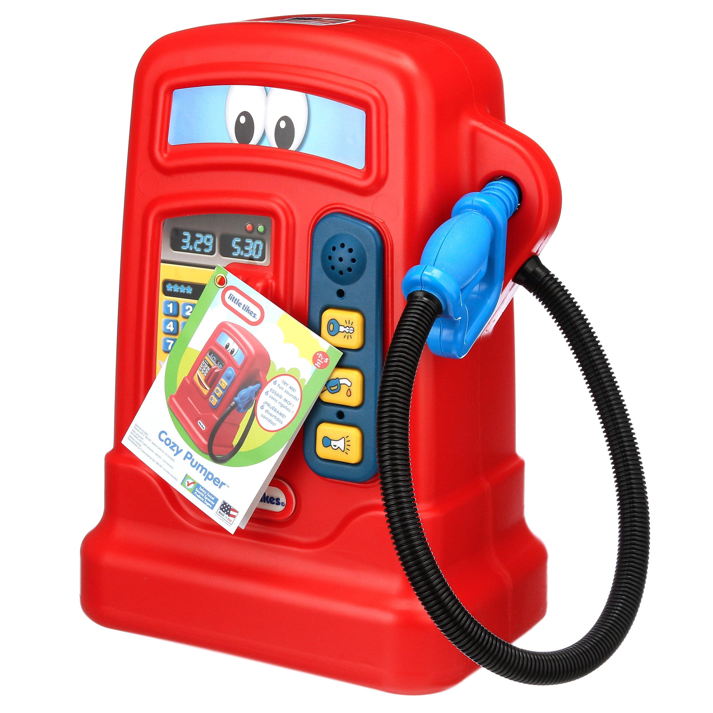 Cozy Pumper Kids Pretend Play Gas Pump Hose Station Children Gift Weather Proof