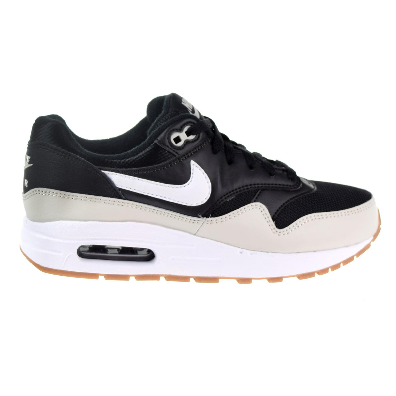 Nike - Nike Air Max 1 Big Kids' Shoes Black/White/Light Bone/Gum Med Brown 807602-011 - Walmart.com