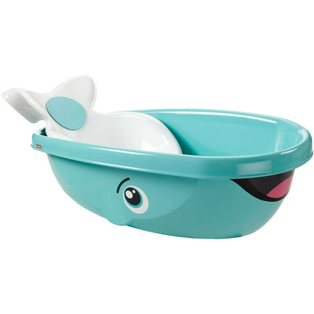 Fisher-Price Whale of a Tub with Removable Baby