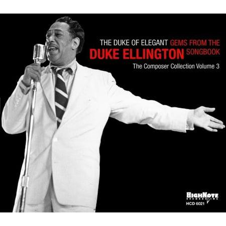 The Duke Of Elegant  Gems From The Duke Ellington Songbook  Digi Pak