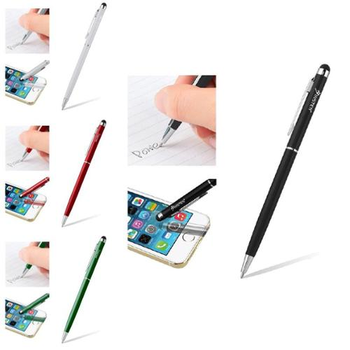 Insten 4 Color Pack Stylus Ballpoint Pen for Capacitive Touch Screens iPhone 6 5S 5 4S Samsung Galaxy Note 4 S5 S4 S3