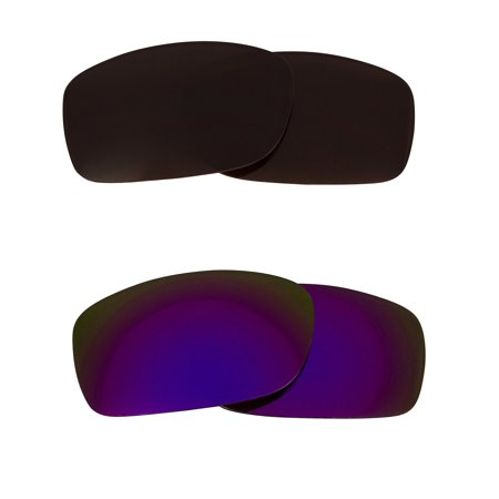 Best SEEK Replacement Lenses for Oakley FIVES SQUARED Brown Purple Mirror -  Walmart.com 00b8bb1fcbad