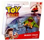 Toy Story Figures Buddy Pack Kite Woody & Trixie 2 Inch High Mini Figures Works With Pull... by