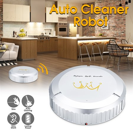 Smart Cleaning Robot , Auto Automatic Robotic Mopping Cleaner Sweeper Sweeping Machine Mop ()