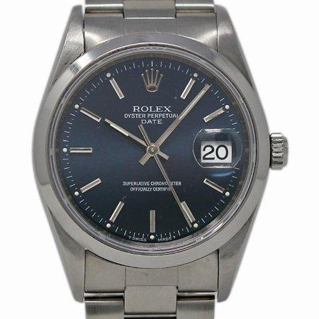Pre-Owned Rolex Date 15200 Steel Women Watch (Certified Authentic & Warranty)